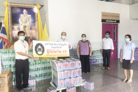 PKRU donates drinking water in COVID-19 crisis